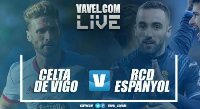 Resumen RC Celta vs RCD Espanyol en La Liga 2018 (2-2)