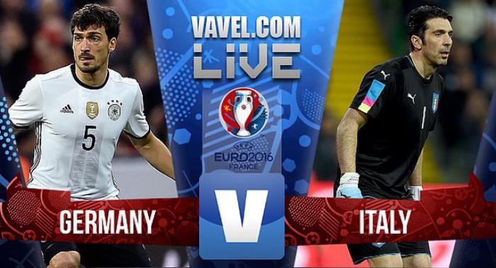 Resultado Alemanha x Itália na Eurocopa 2016 (1(6)-(5)1)