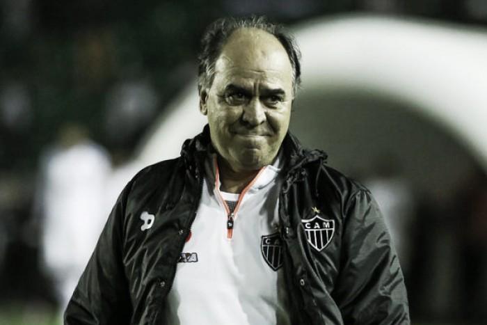 """Marcelo Oliveira avalia empate contra Figueirense e critica arbitragem: """"Equivocado"""""""