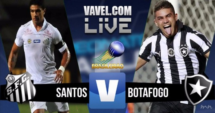 Resultado Santos x Botafogo no Brasileirão Série A 2016 (3-0)