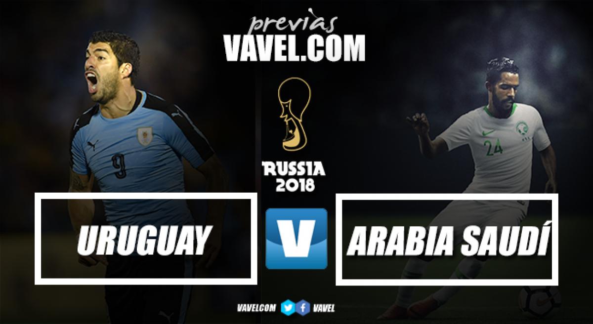 Previa Uruguay - Arabia Saudita: un juego de David contra Goliat