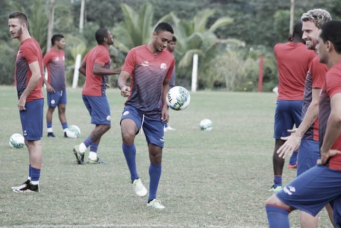 Rafael Pereira e Eurico viram dúvidas no Náutico para a partida contra o Goiás