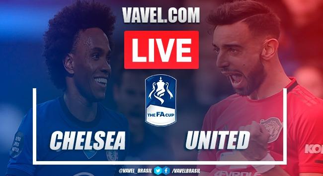 Gols e melhores momentos para Manchester United 1x3 Chelsea pela FA Cup 2019-20