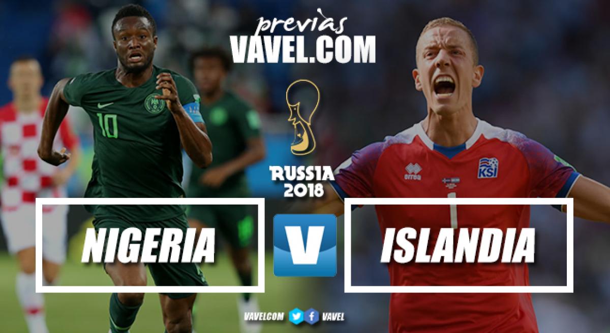 Após derrota na estreia, Nigéria busca vitória contra a surpreendente Islândia