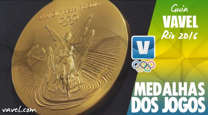Rio 2016 apresenta medalhas sustentáveis para os Jogos Olímpicos e Paralímpicos