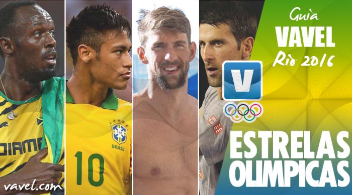 Guia VAVEL dos Jogos Olímpicos Rio 2016: Estrelas Olímpicas