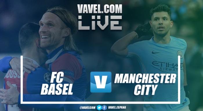 Resumen Basel 0-4 Manchester City en Champions League 2018