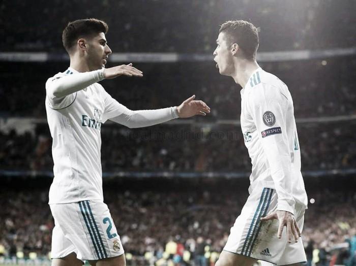 Real Madrid - PSG: puntuaciones del Real Madrid, ida octavos de final Champions League 2018