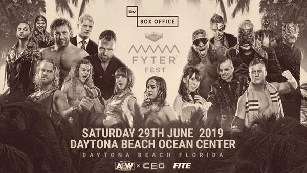 Previa de AEW Fyter Fest