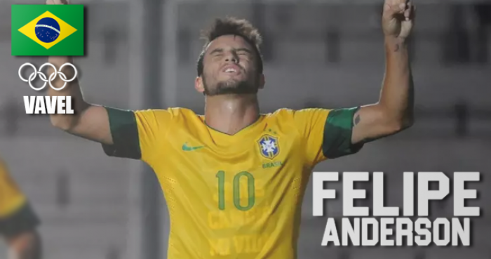 Rumo à Olimpíada: Felipe Anderson, meia da Lazio
