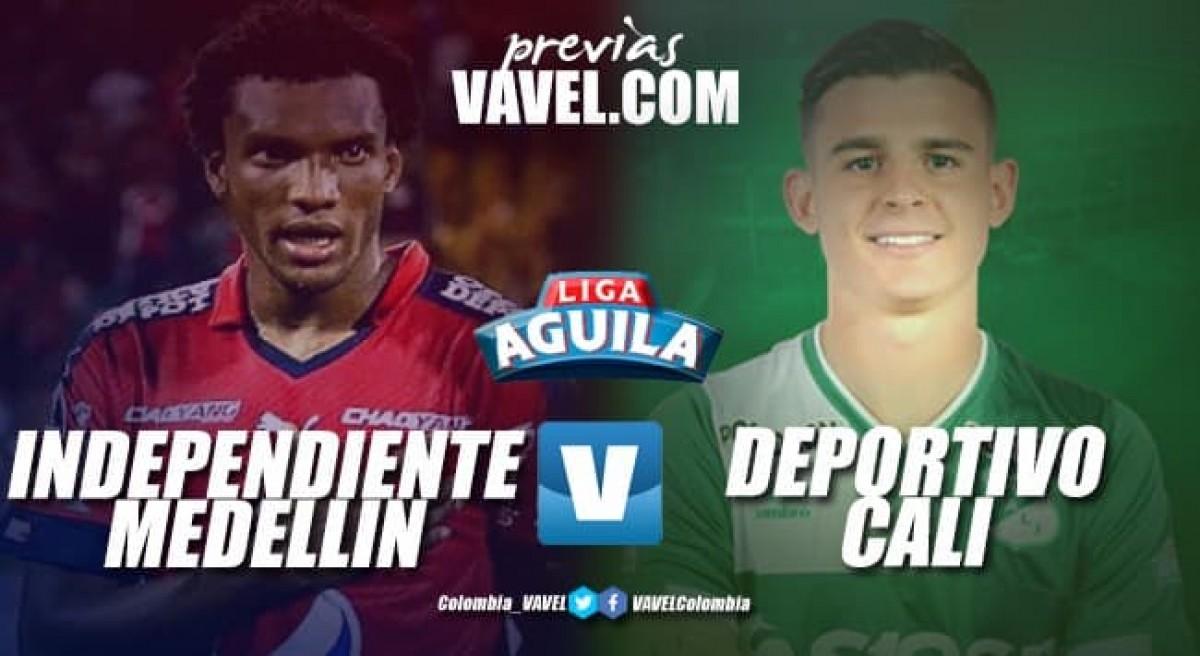 Independiente Medellín - Deportivo Cali: Partido para afianzar