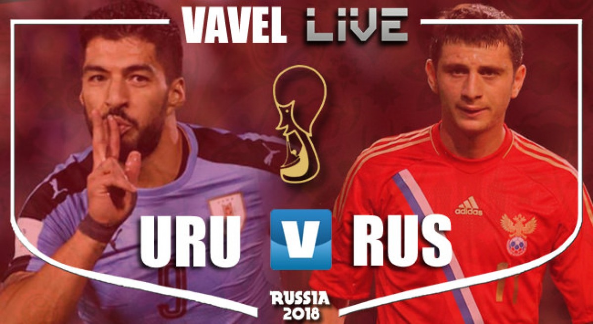 Resumen Uruguay 3-0 Rusia en Mundial Rusia 2018