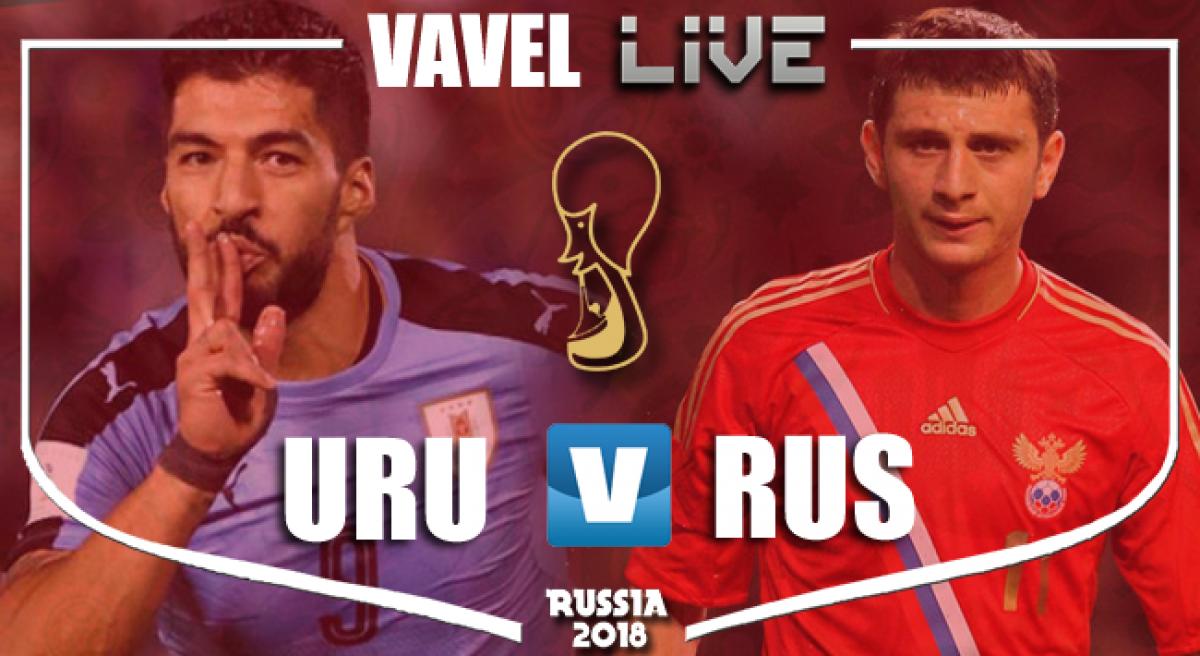 Resultado e gols Uruguai x Rússia pela Copa do Mundo 2018 (3-0)
