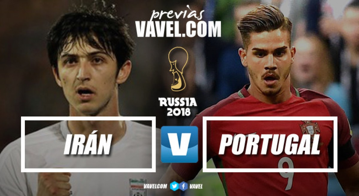 Previa Irán - Portugal: matar o morir por la calificación