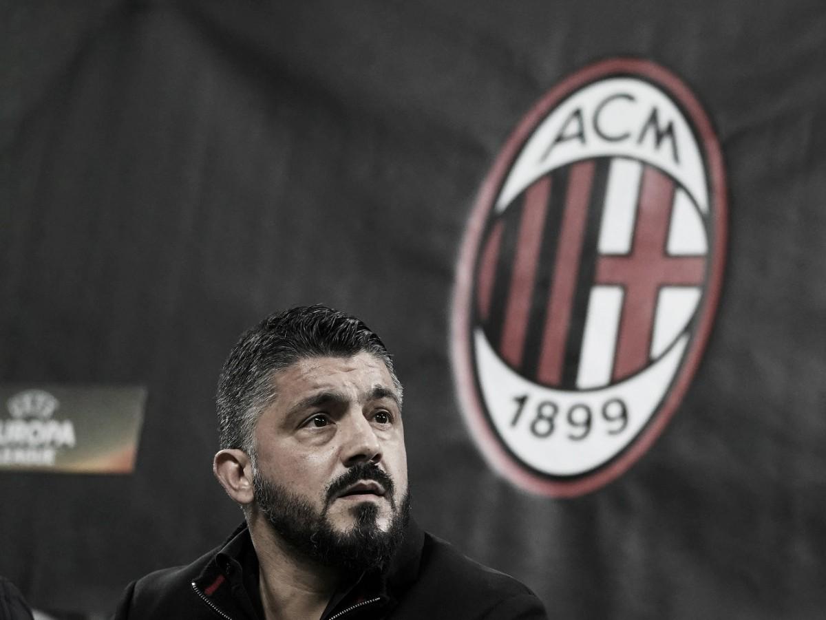 Satisfeito, Gattuso comemora mais um jogo do Milan sem sofrer gols e elogia 'reservas'