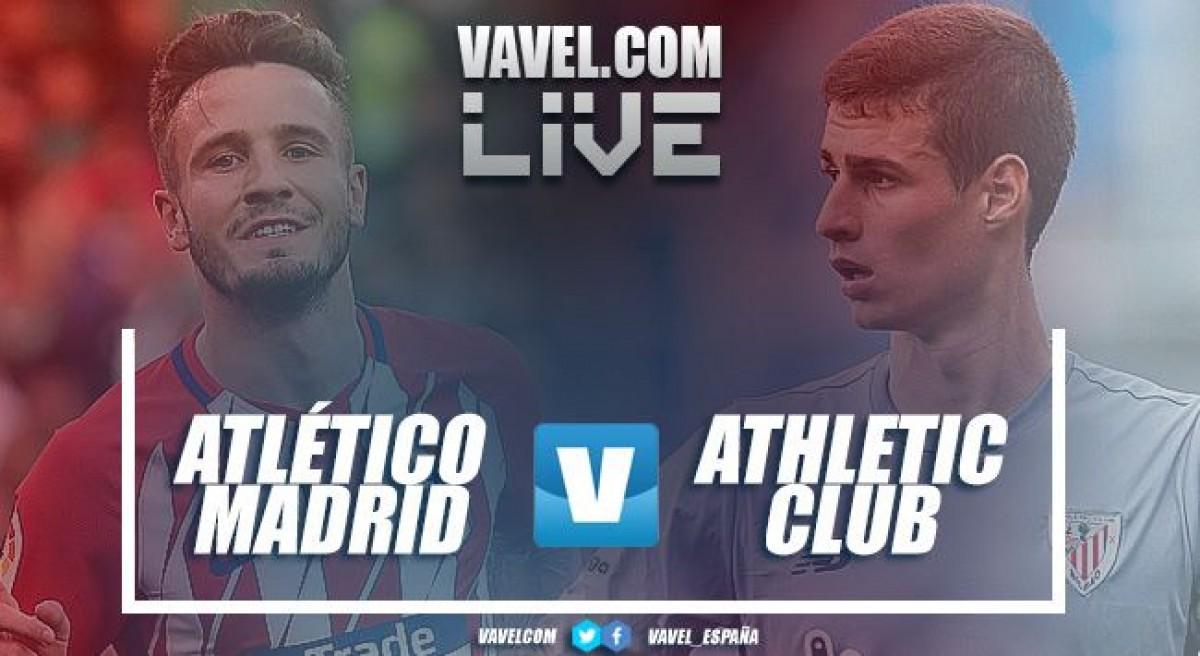 Resumen del Atlético de Madrid vs Athletic Club en LaLiga en 2018 (2-0)
