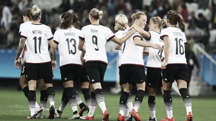 Zimbabwe 1-6 Germany: Neid's side start Rio 2016 with resounding win over the Mighty Warriors