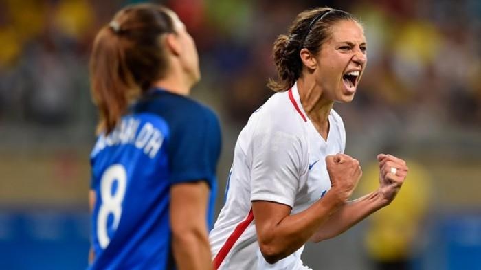 Les françaises malmenées par les américaines lors de leur deuxième match aux JO