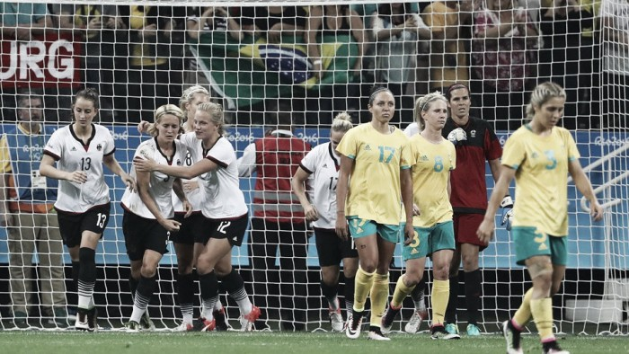 Germany 2-2 Australia: Heartbreak for the Matildas as late German goal costs them three points in Rio