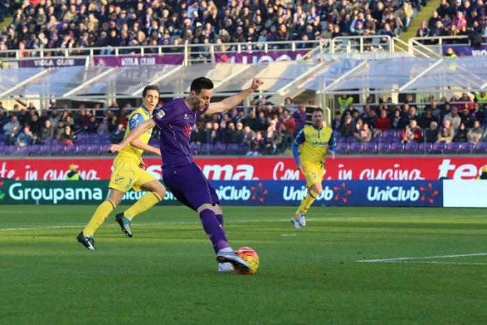 Fiorentina-Chievo Verona 1-0, la sintesi della gara