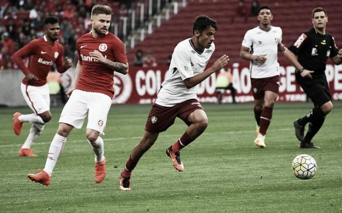 Internacional busca resultado duas vezes, empata em casa contra Fluminense e continua sem vencer