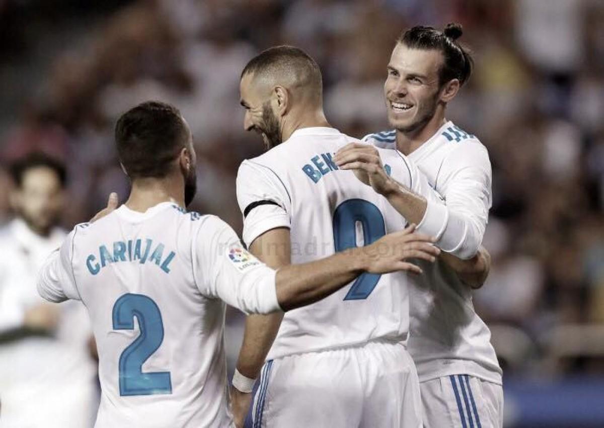 """Benzema y Bale, la cara y la cruz del """"nuevo Madrid"""""""