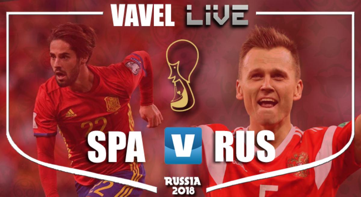 Resumen España 1 (3) - 1 (4) Rusia en Mundial Rusia 2018