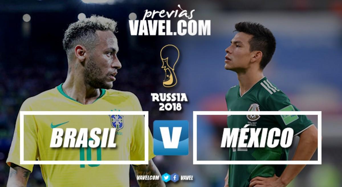 Previa Brasil - México: por el anhelado quinto partido