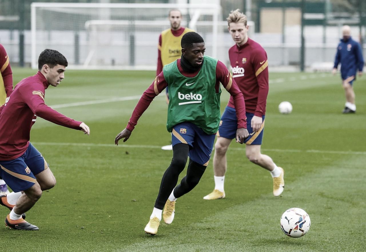 Entrenamiento del FC Barcelona | Foto: Miguel Ruiz