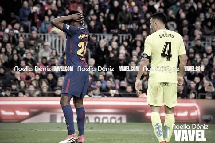 El Getafe rasca un punto en el Camp Nou
