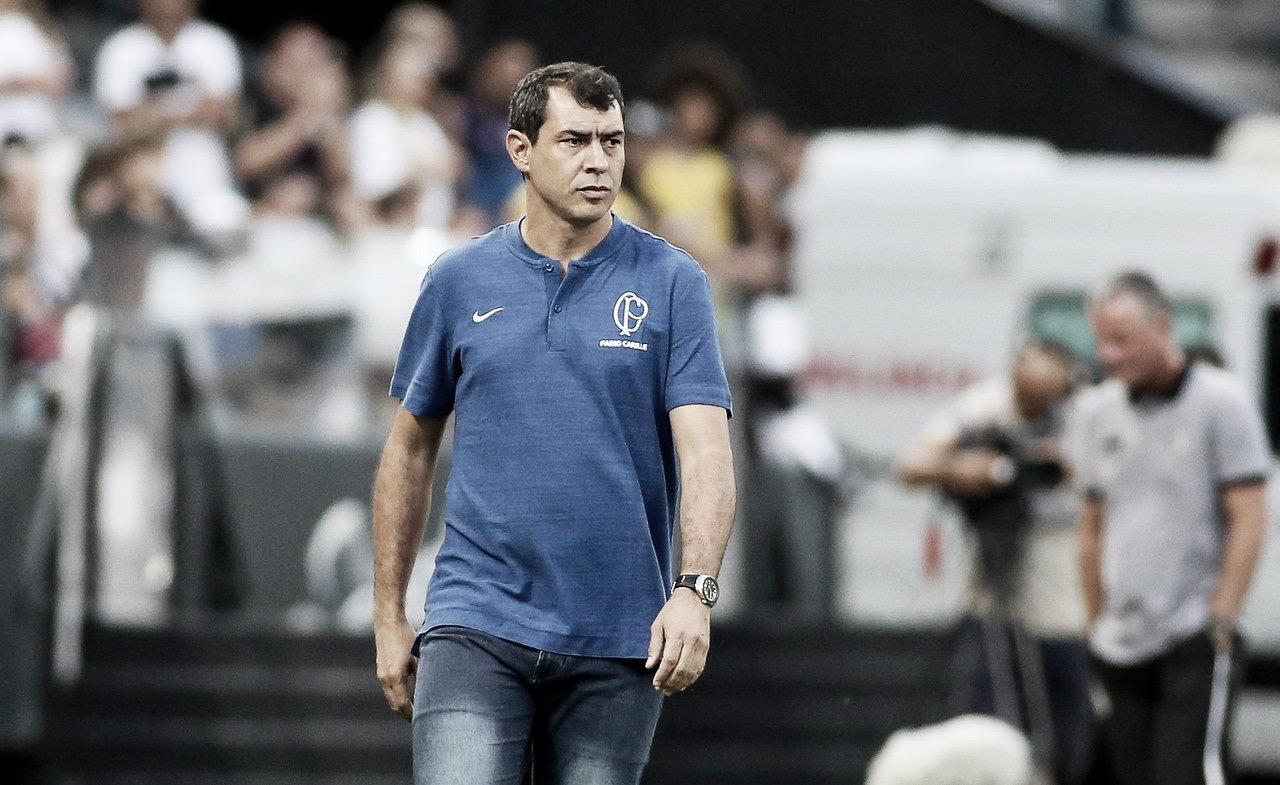 """Carille assume cansaço do Corinthians, mas ressalta: """"O time não está acomodado"""""""