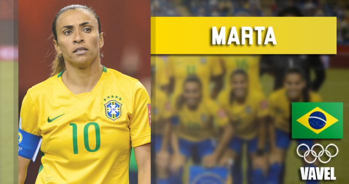 Rumo à Olimpíada: Marta, meia do Rosengard