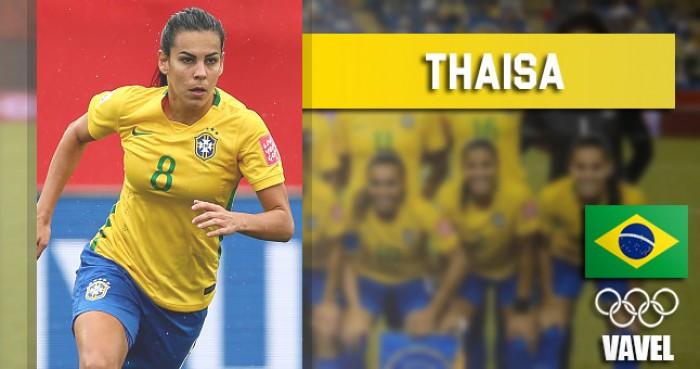 Rumo à Olimpíada: Thaisa Moreno, volante da Seleção permanente