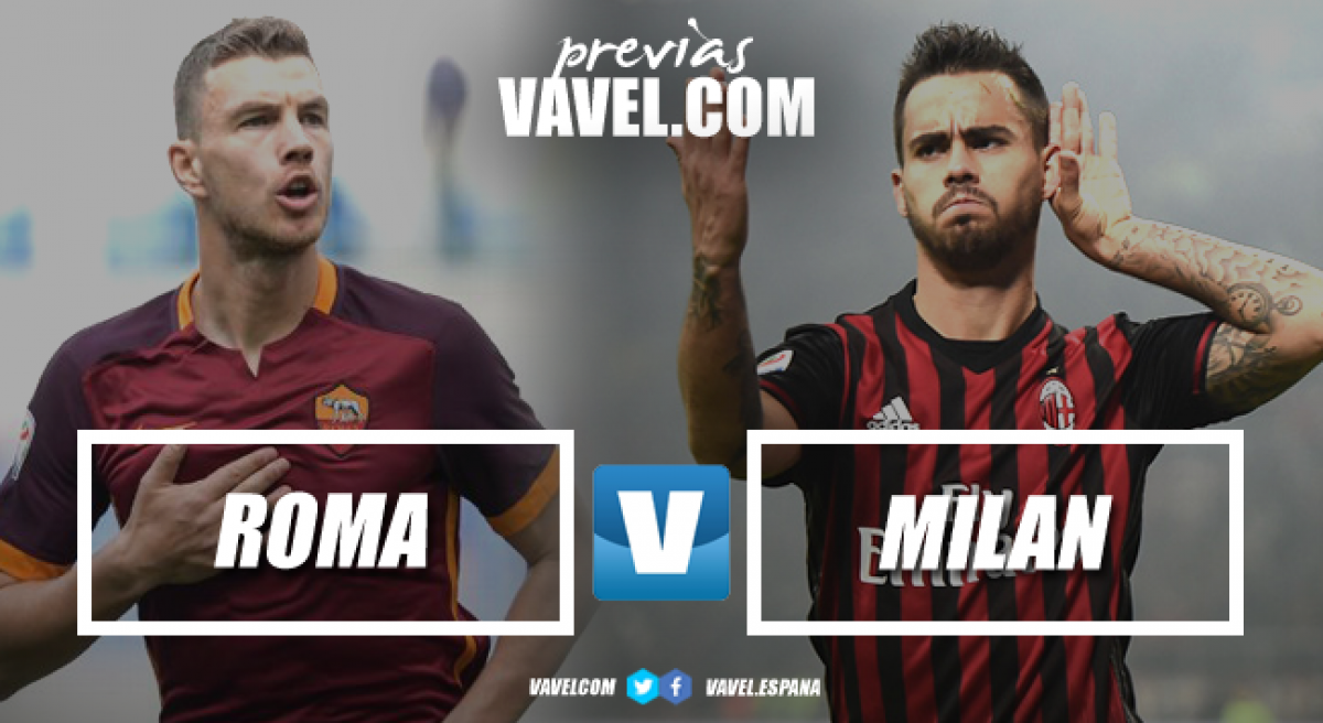 Previa Roma - Milan: un examen para Di Francesco y Gattuso