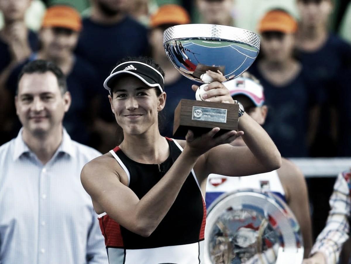 Muguruza supera Babos e se consagra campeã no WTA de Monterrey