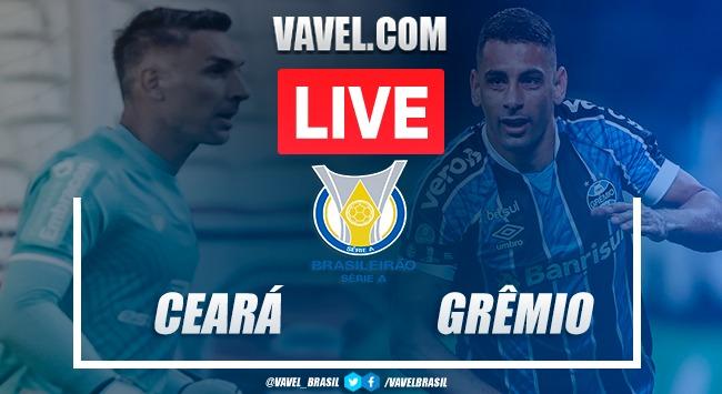 Ceará x Grêmio AO VIVO: jogo online pelo Campeonato Brasileiro 2020