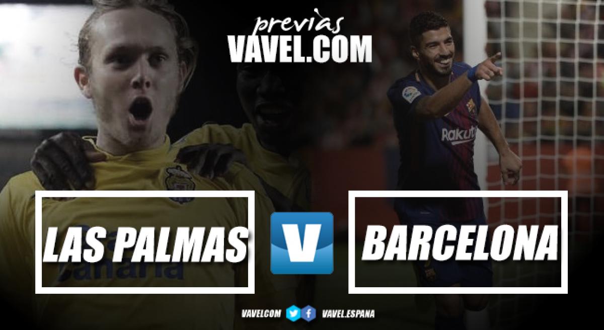 Previa UD Las Palmas - FC Barcelona: hora de tumbar a Goliat