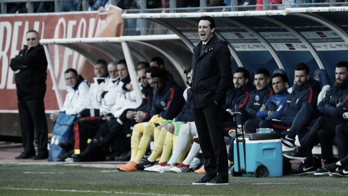 Unai Emery diz que PSG está 'pronto' para encarar Real Madrid