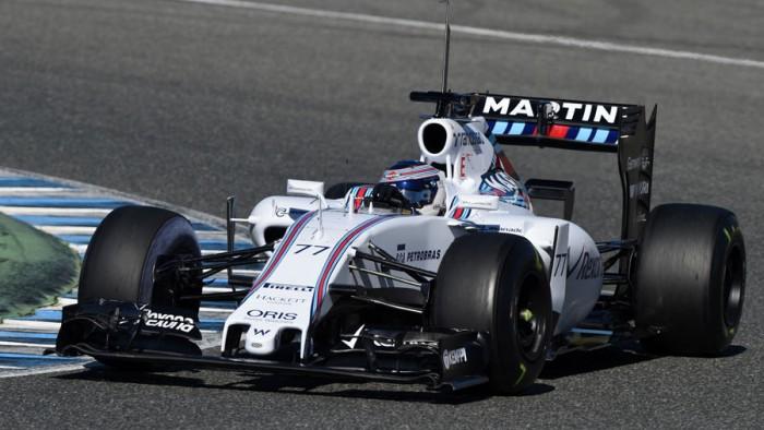 El Williams FW38 será presentado el 22 de febrero