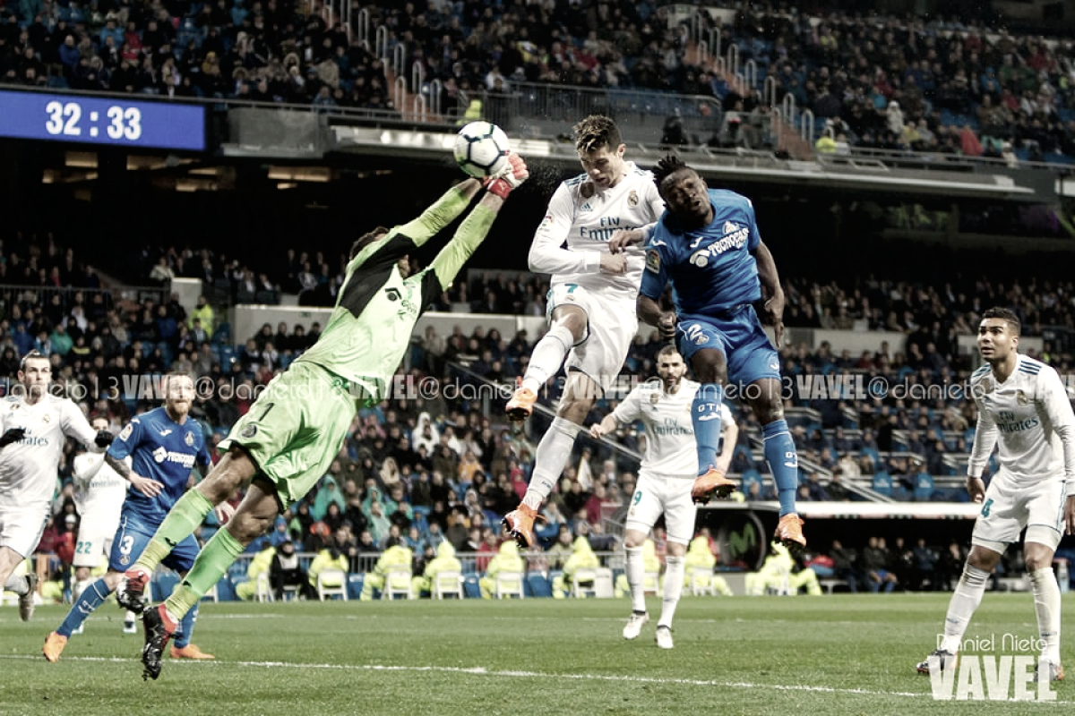 Real Madrid Vs Getafe 2012: Vendaval Blanco Ante El Getafe