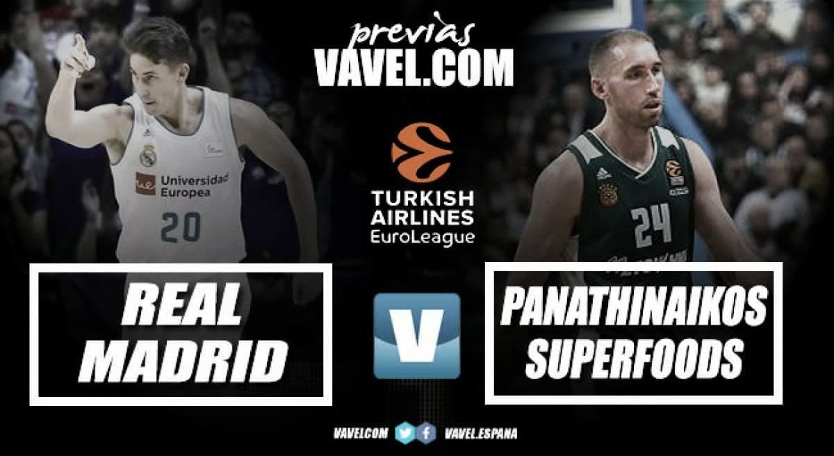 Turkish Airlines Euroleague: Real Madrid vs Panathinaikos, quarto inedito