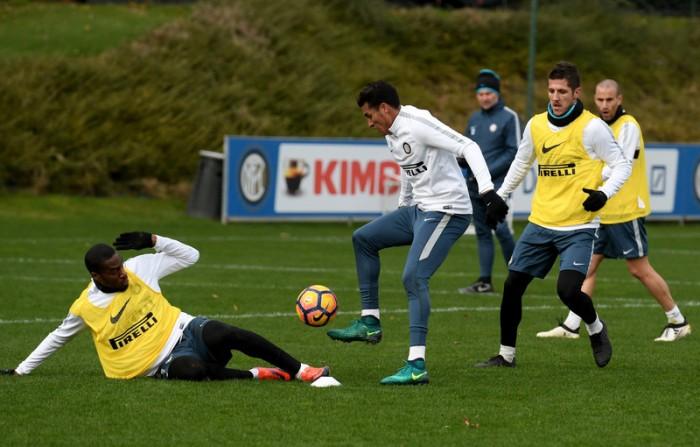 Inter, prosegue la preparazione in vista della sfida con il Napoli