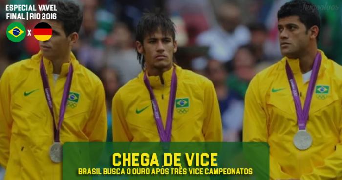 Após três vices, Seleção Brasileira tem sua melhor oportunidade para conquistar o ouro olímpico