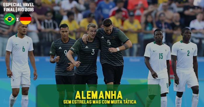 Sem grandes estrelas, Alemanha aposta novamente na tática para surpreender o Brasil