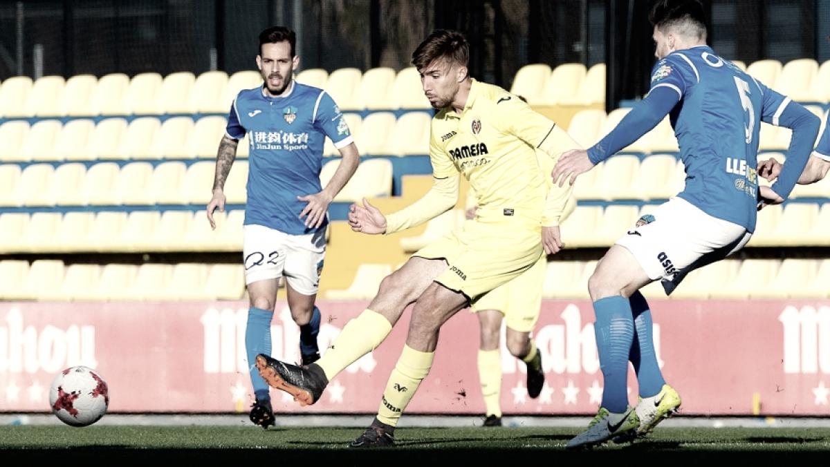 El Villarreal B logra una sufrida victoria