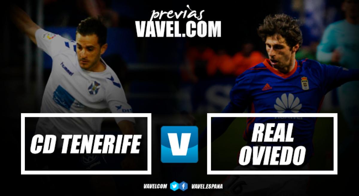 Previa CD Tenerife - Real Oviedo: es hora de cambiar la racha