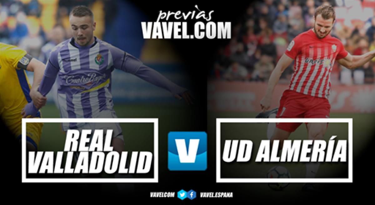 Previa Real Valladolid - UD Almería: el equipo de Lucas quiere la sorpresa