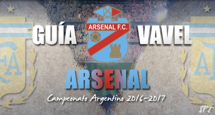 Guía Arsenal de Sarandí VAVEL 2016/2017
