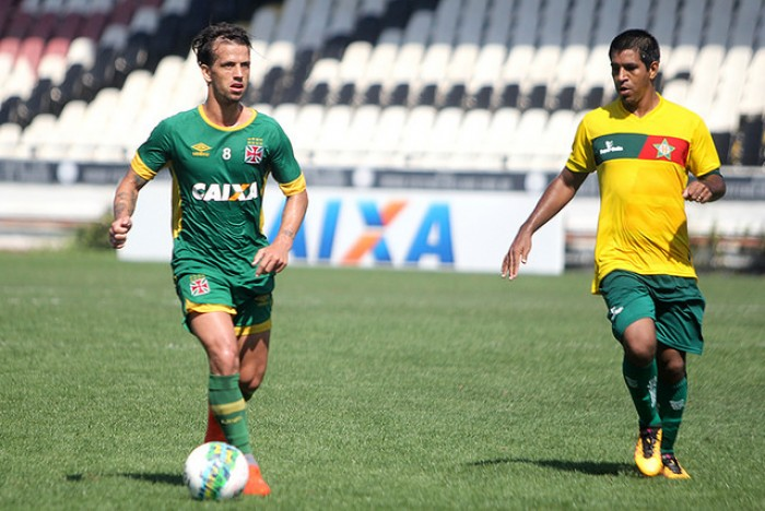 Vasco realiza jogo-treino contra a Portuguesa da Ilha do Governador