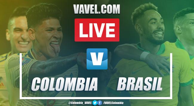 Colombia vs Brasil EN VIVO online en Preolímpico (1-1)